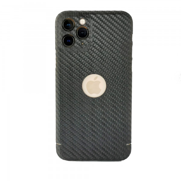 Apple iPhone 11 Pro/XS Backcover aus echtem Carbon Carbon black
