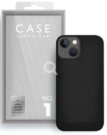 Apple iPhone 13mini Silikon-BackCover Case44 No.1 black