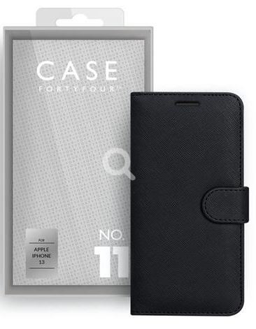 Apple iPhone 13 Book-Cover Case44 No.11 Cross Grain black