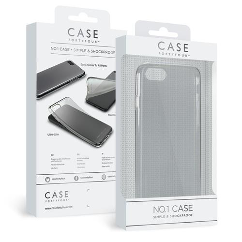Apple iPhone SE2020/8/7 Soft-Cover Case44 No.1 clear