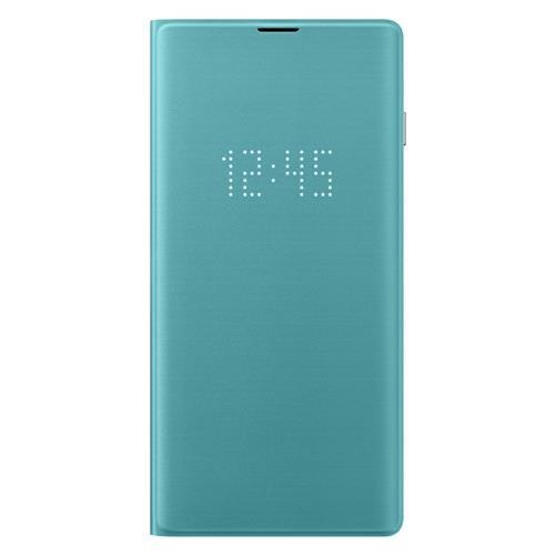 Samsung Galaxy S10 Book-Cover mit LED-Anzeige Grün