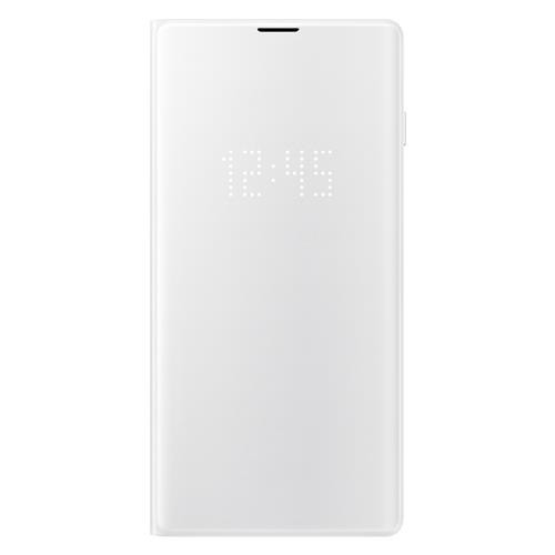 Samsung Galaxy S10 Book-Cover mit LED-Anzeige Weiss