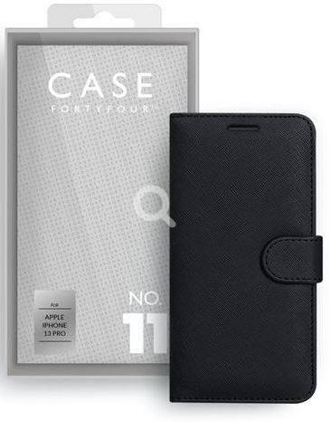 Apple iPhone 13 Pro Book-Cover Case44 No.11 Cross Grain black
